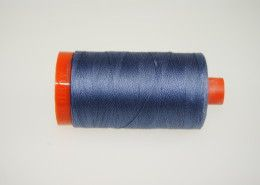 Aurifil Garn 1248 Dark Grey Blue