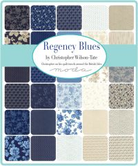 Regency Blues, Mini Charm Pack