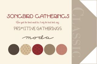 Songbird Gatherings, Charm Pack