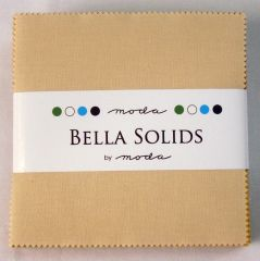 Bella Solids Warm Pastels, Charm Pack