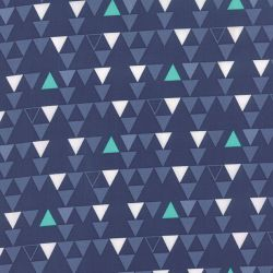 Color Theory Triangles Navy