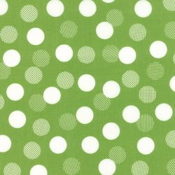 Color Theory Dots Lime