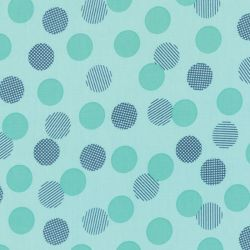 Color Theory Dots Teal