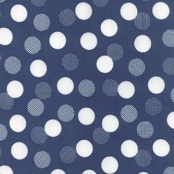 Color Theory Dots Navy