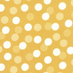 Color Theory Dots Mustard