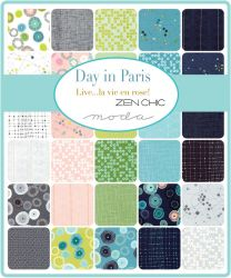 Day in Paris, Charm Pack