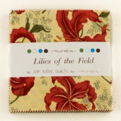 Lilies of the Field, Charm Pack