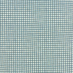 Wonky Gingham Light Blue