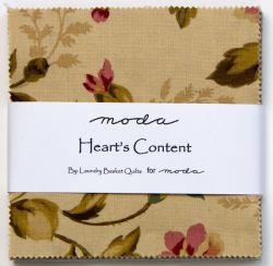 Heart's Content, Charm Pack