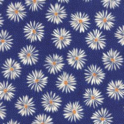 Straw Flower Dark Blue