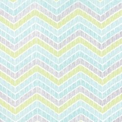 True Luck Chevron Aqua