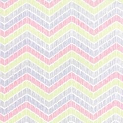 True Luck Chevron Coral