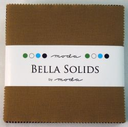 Darks Bella Solids, Charm Pack
