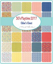 30's Playtime 2017, Charm Pack